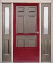 Custom Colored Colonial Appearance Storm Doors